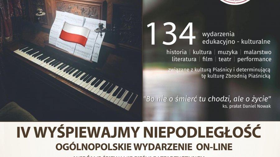 IV Wyśpiewajmy Niepodległość - wspólne śpiewanie pieśni patriotycznych z okazji 102. rocznicy odzyskania przez Polskę niepodległości