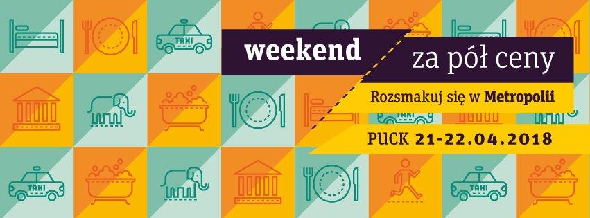 Weekend za pół ceny - 21-22 kwietnia
