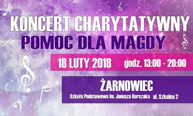 Koncert Charytatywny POMOC DLA MAGDY